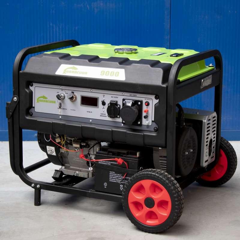 Agregat prądotwórczy 11kVA 1F Barracuda 9000 z rozruchem elektrycznym OUTLET 4
