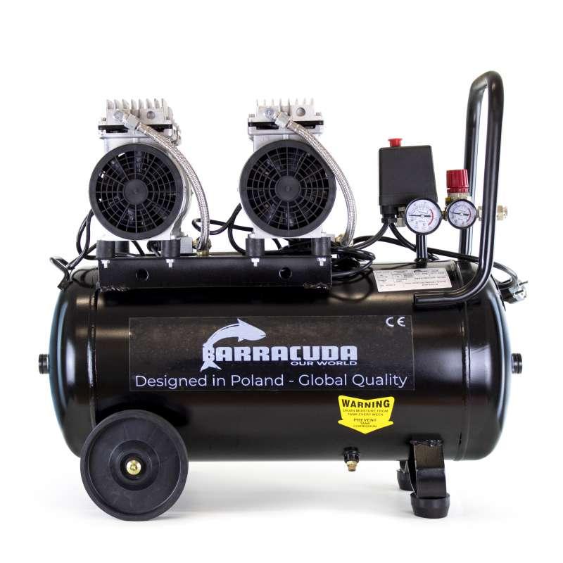 Bezolejowy kompresor powietrza Barracuda OF50 220 l/min 230V