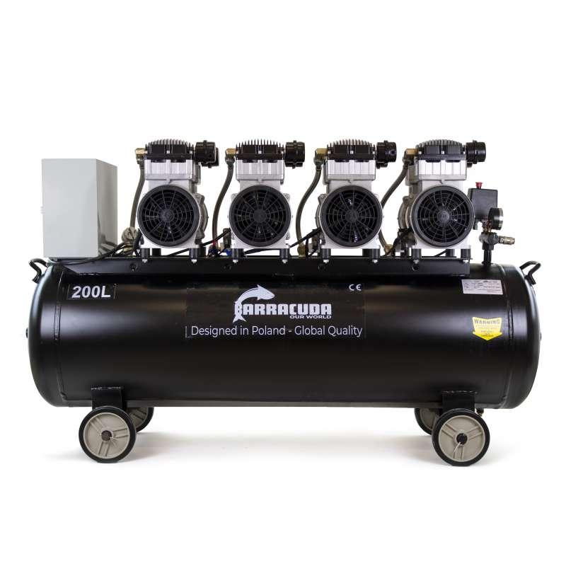 Bezolejowy kompresor powietrza Barracuda OF200 920 l/min 230V
