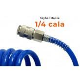 Wąż spiralny przewód pneumatyczny 8x12mm 20m PE
