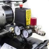 Bezolejowy kompresor powietrza Barracuda OF100 330 l/min 230V