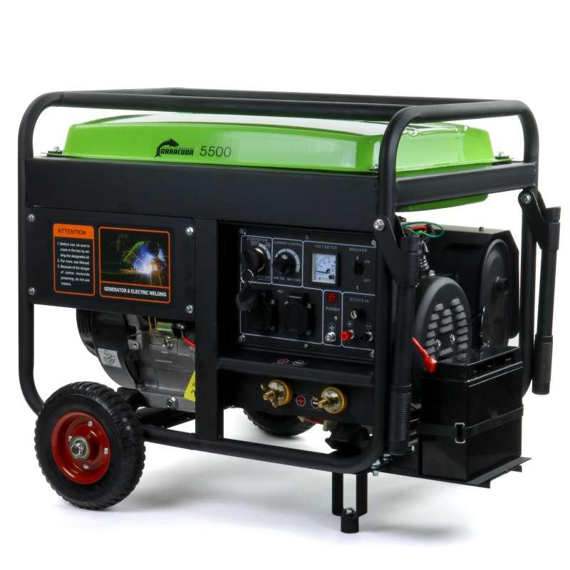 Agregat spawalniczy 5,5kW ze spawarką 190A