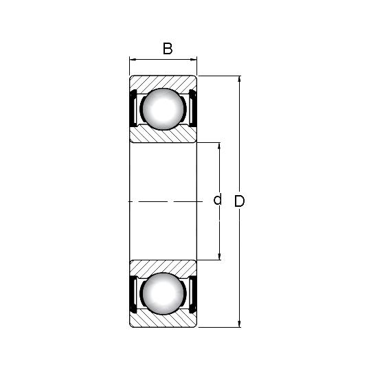 Łożysko wału 6207 do Honda Gx340 Gx390 oraz Ohv 182f 188f