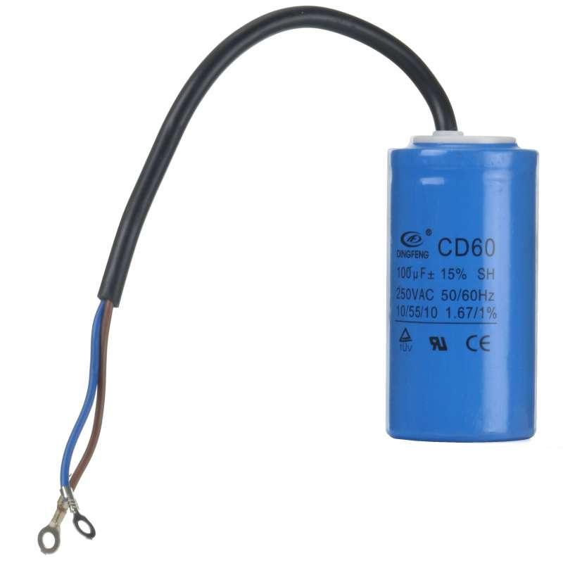 Kondensator rozruchowy 100uF 250V AC