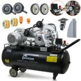 Kompresor powietrza Barracuda 3065 butla 100L 12,5 BAR 400V