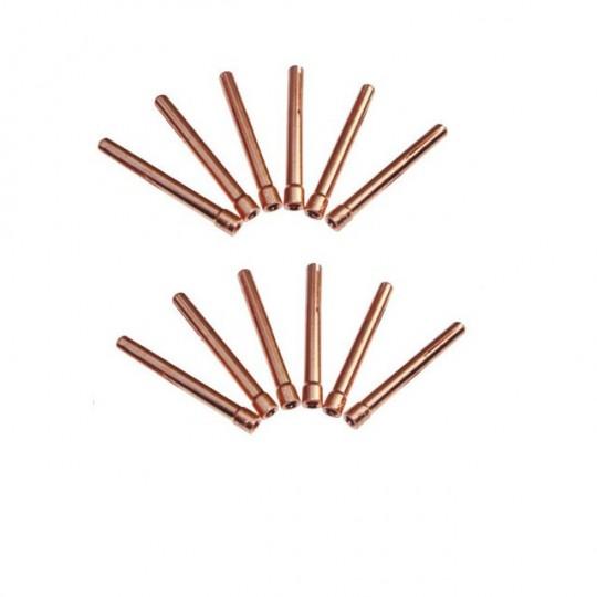 Zestaw 10szt. tulejek zaciskowych 1.6mm do uchwytów QQ-150A