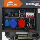 Agregat prądotwórczy 10kVA 400V Barracuda DIESEL 8000 OPEN ze wzmocnioną fazą 230V
