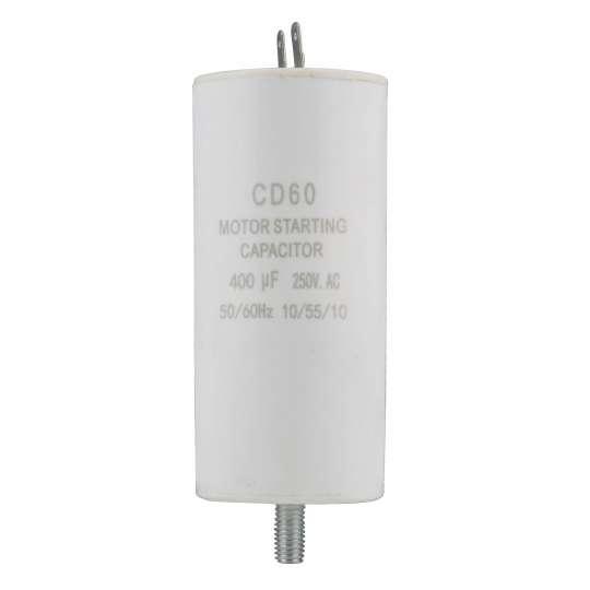 Kondensator 400uF 250V AC do dmuchawy wentylatora