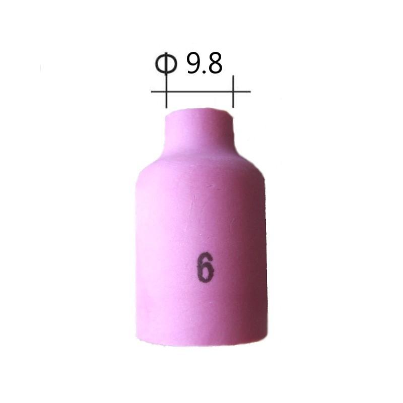 Dysza ceramiczna do soczewki uchwytu TIG nr 6