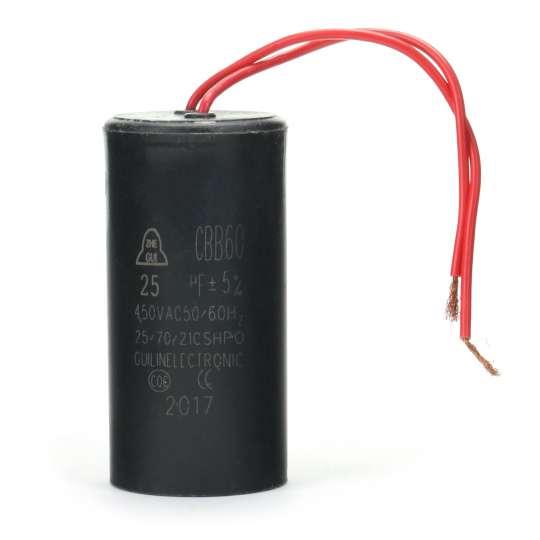 Kondensator rozruchowy do silnika 25 uF 450 V