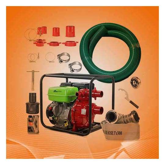 Zestaw nawadniający motopompa wysokociśnieniowa 3 cale (75 mm)